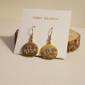 Tory Burch sylbie snake earrings
